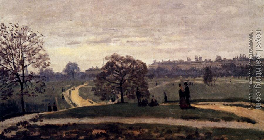 Claude Oscar Monet : Hyde Park, London