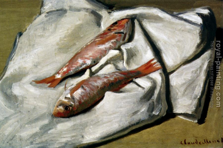 Claude Oscar Monet : Red Mullet