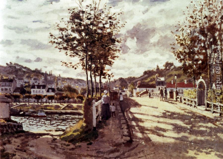Claude Oscar Monet : The Seine At Bougival