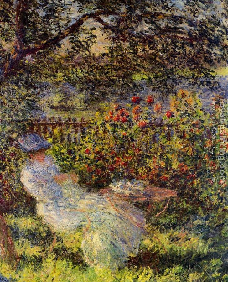 Claude Oscar Monet : Alice Hoschede in the Garden
