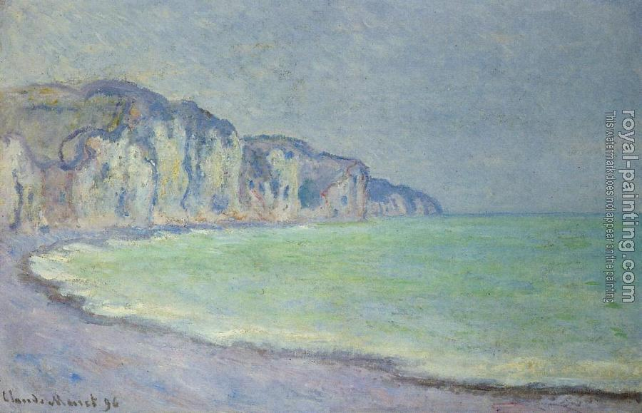 Claude Oscar Monet : Cliff at Pourville II