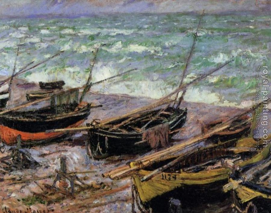 Claude Oscar Monet : Fishing Boats II
