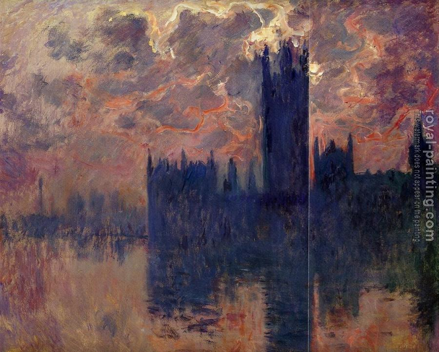 Houses of Parliament, Sunset III