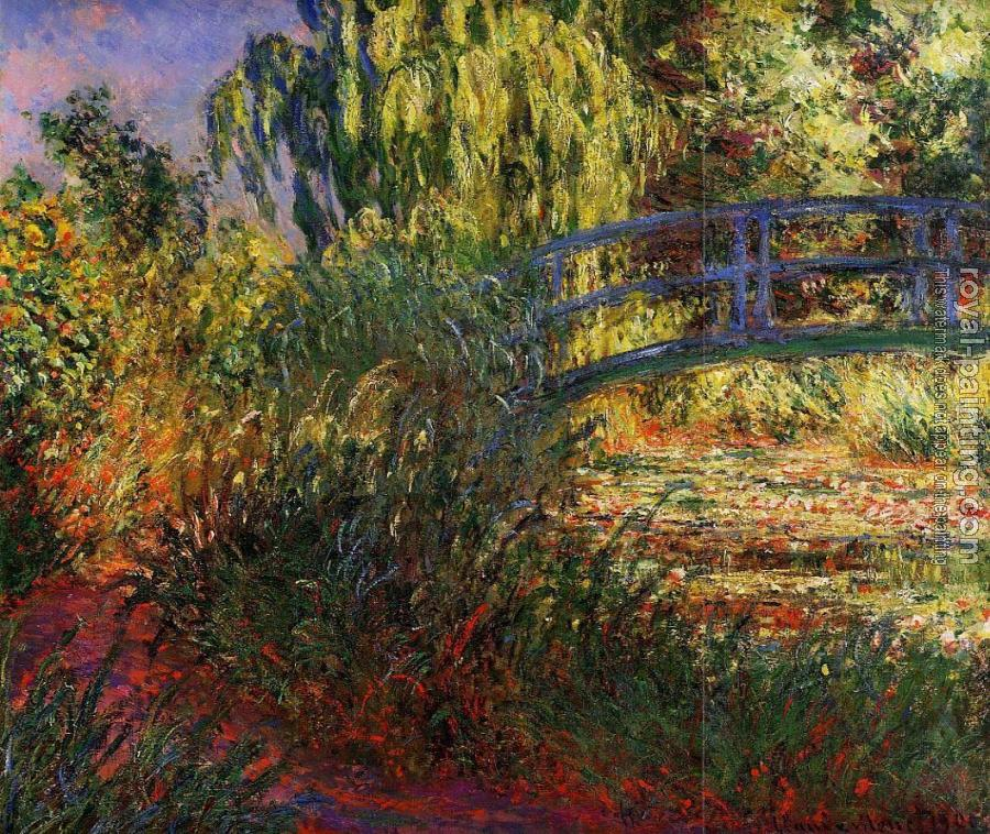 Claude Oscar Monet : Path along the Water-Lily Pond