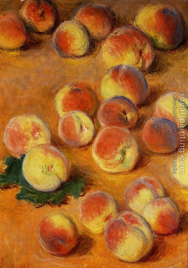 Claude Oscar Monet : Peaches