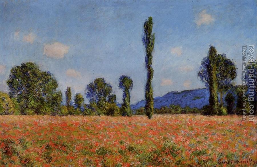 Claude Oscar Monet : Poppy Field