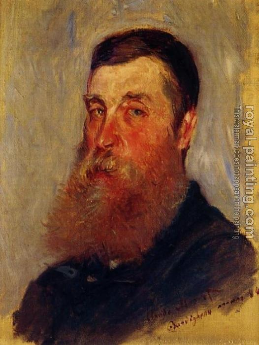 Claude Oscar Monet : Portrait of an English Painter