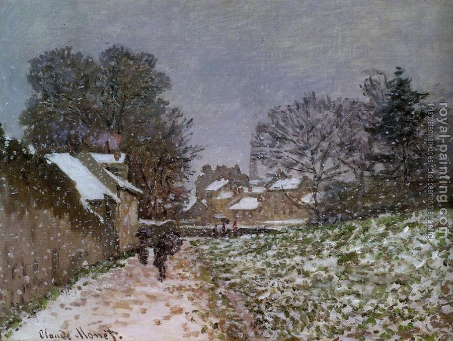 Snow at Argenteuil II