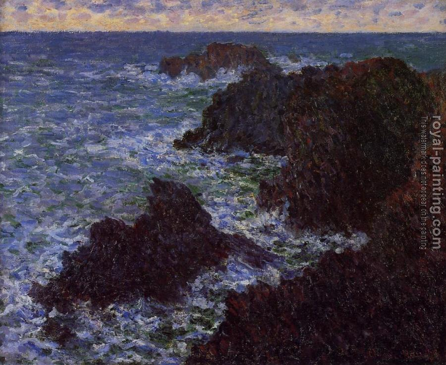 Claude Oscar Monet : The Cote Sauvate
