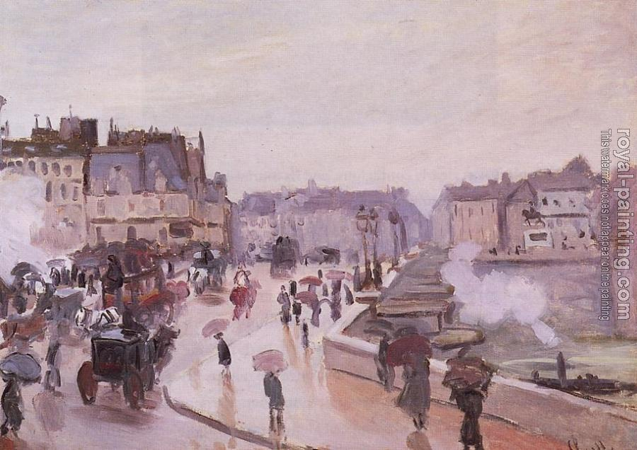 Claude Oscar Monet : The Pont Neuf