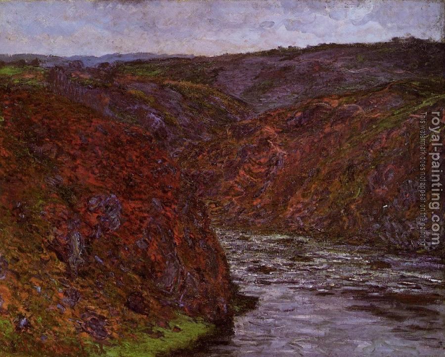 Valley of the Creuse, Grey Sky