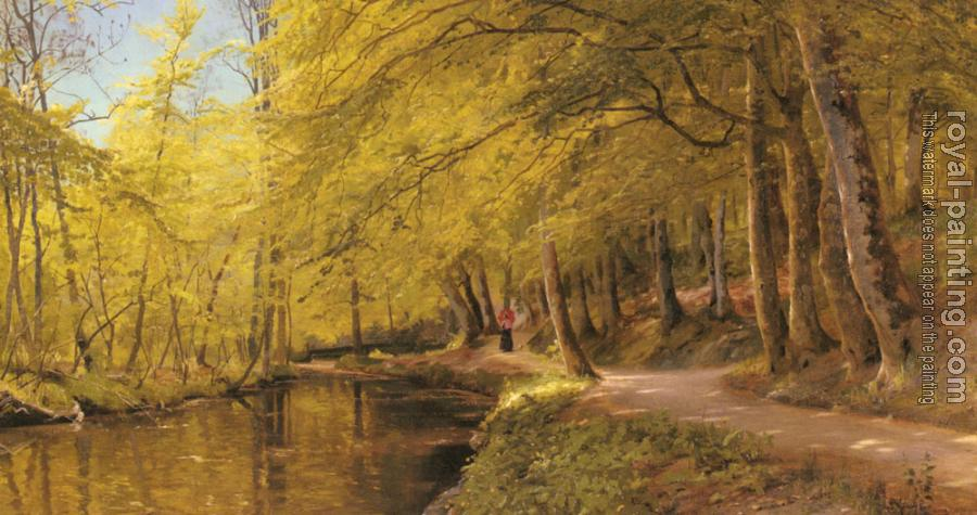 Peder Mork Monsted : An Afternoon Stroll