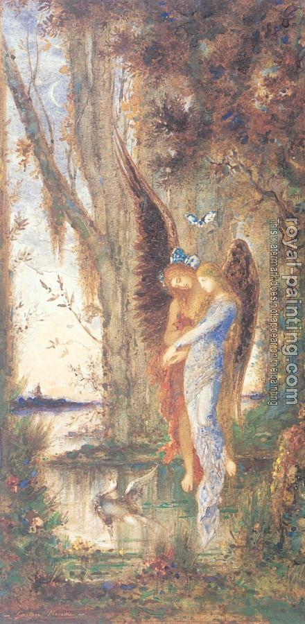 Gustave Moreau : Evening and Sorrow