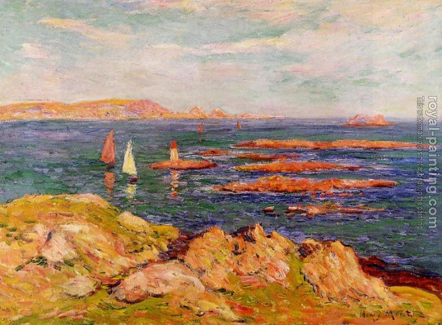Henri Moret : By the Sea