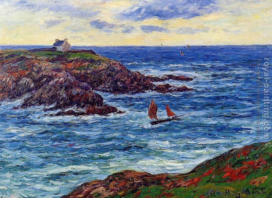 Sailboats off the Coast of Doelan