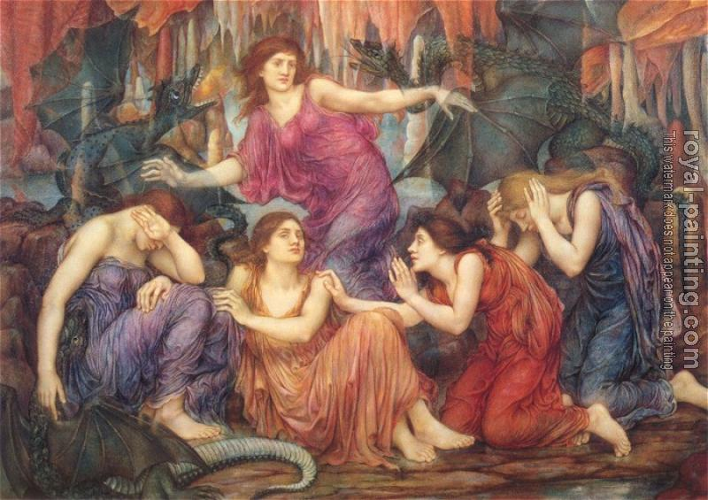 Evelyn De Morgan : The Captives