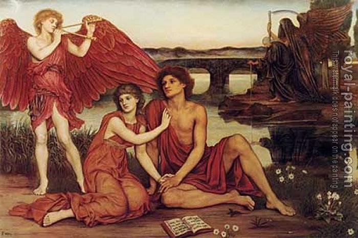 Evelyn De Morgan : Love's Passing