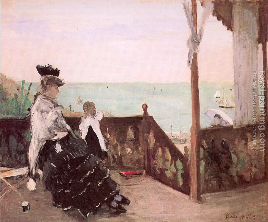 Berthe Morisot : In a Villa at the Seaside