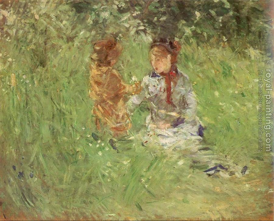 Berthe Morisot : In the Garden at Maurecourt