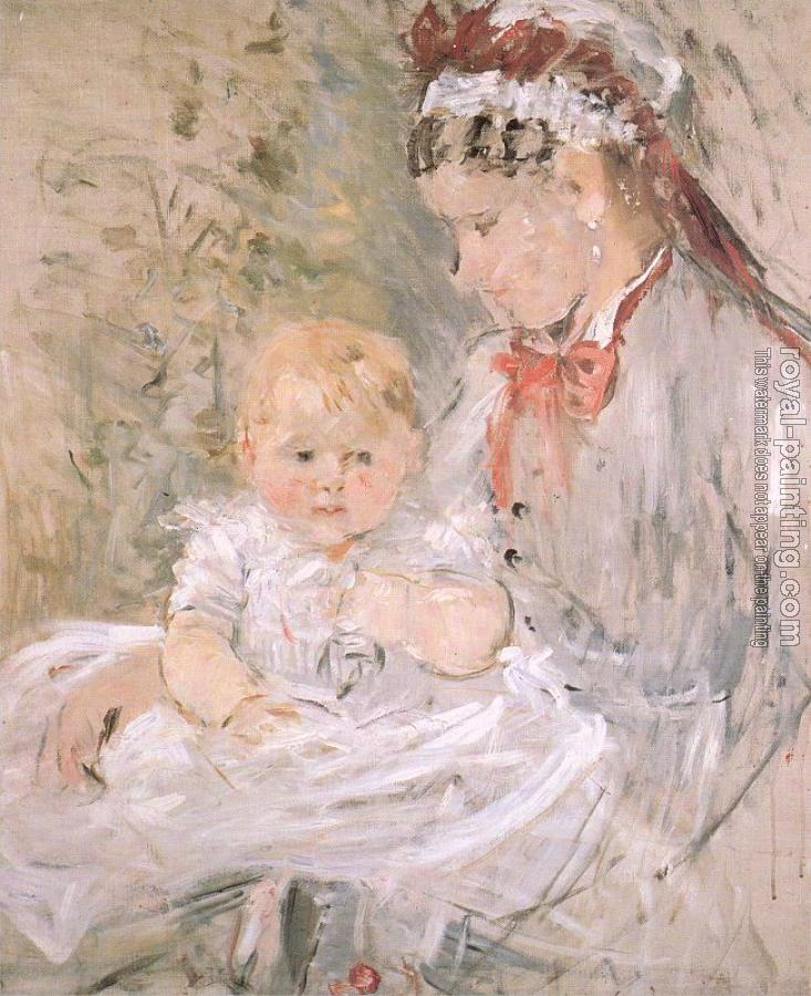 Berthe Morisot : Julie with her Nurse