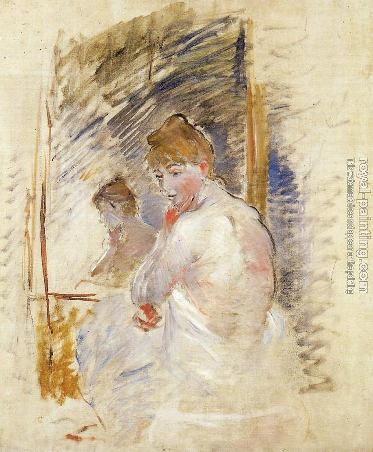Berthe Morisot : Getting out of Bed