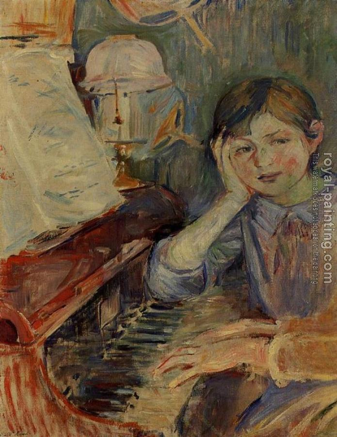 Berthe Morisot : Julie Listening