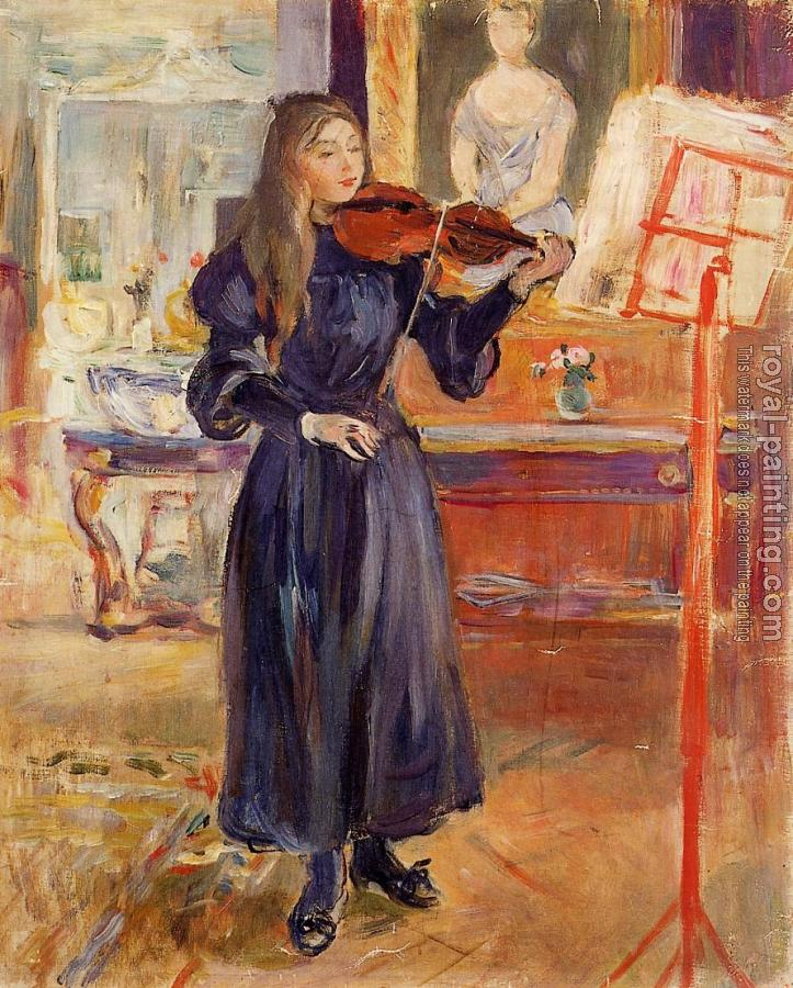 Berthe Morisot : Studying the Violin