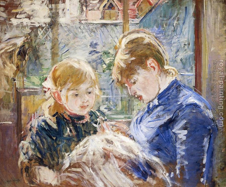 Berthe Morisot : The Artist's Daughter, Julie, with Her Nanny