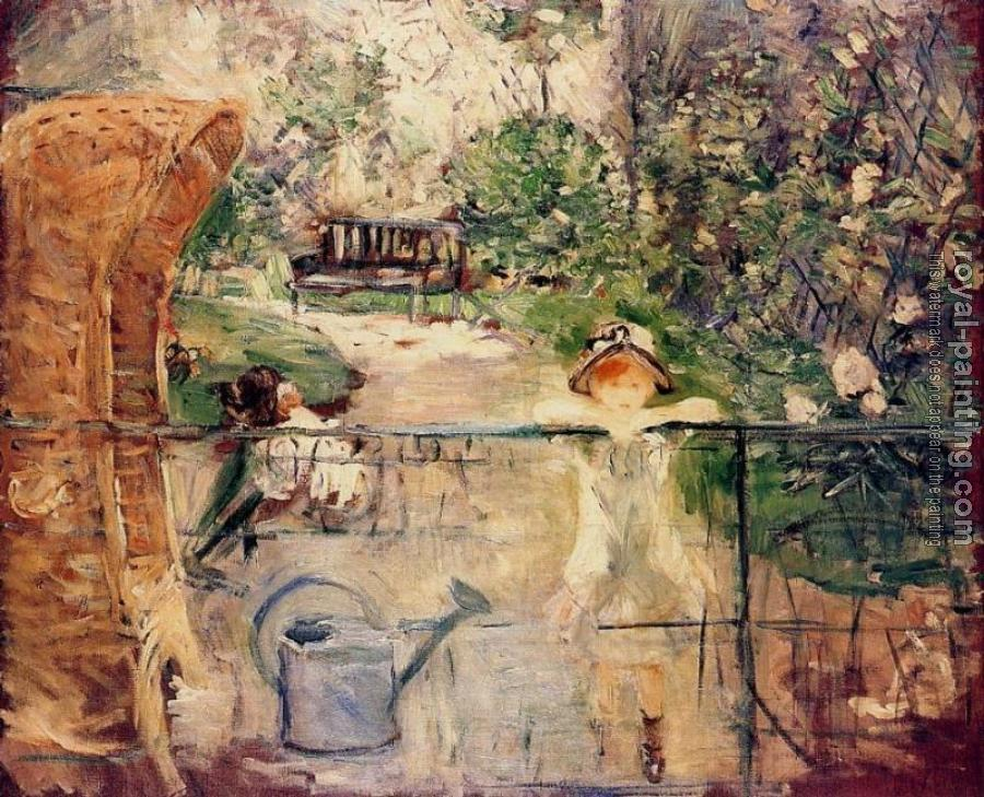 Berthe Morisot : The Basket Chair