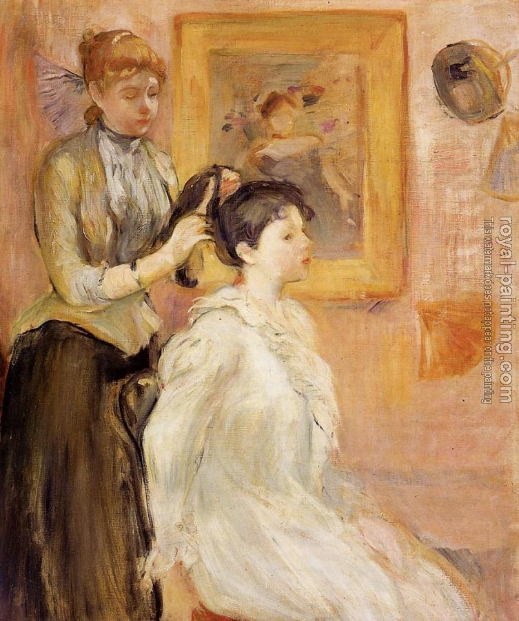 Berthe Morisot : The Hairdresser