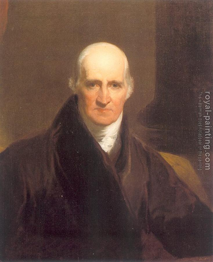 Samuel Finley Breese Morse : Portrait of Benjamin West (copy after Sir Thomas Lawrence)