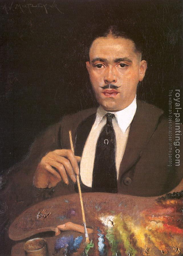 Archibald J Jr Motley : Self Portrait