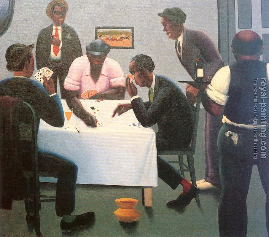 Archibald J Jr Motley : The Boys in the Back Room (Card Players)