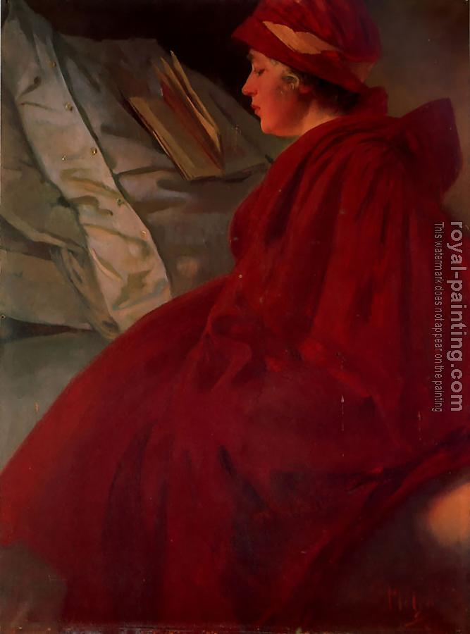 Alphonse Maria Mucha : The Red Cape