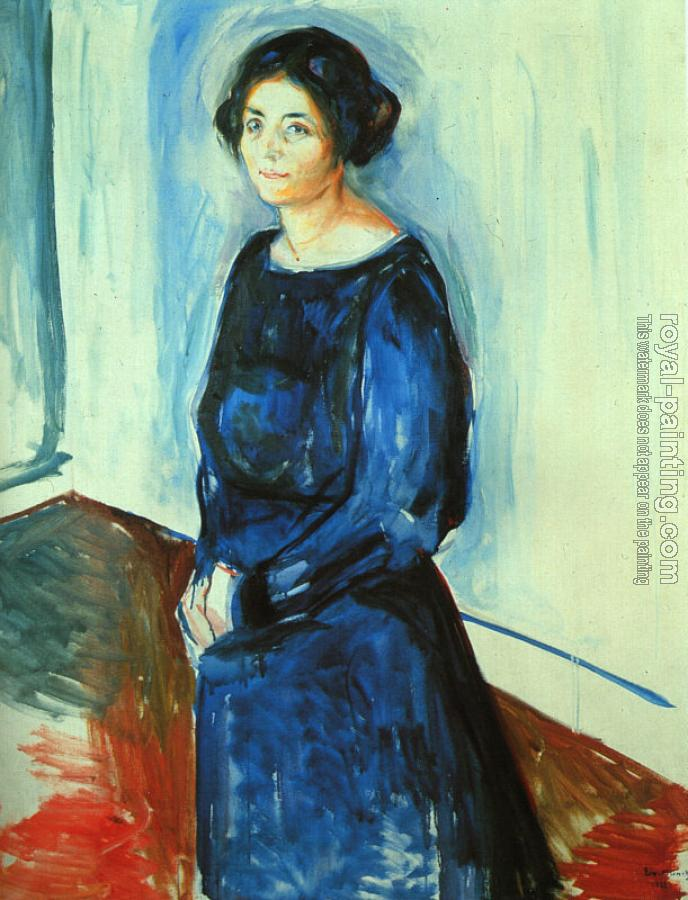 Edvard Munch : Woman in Blue