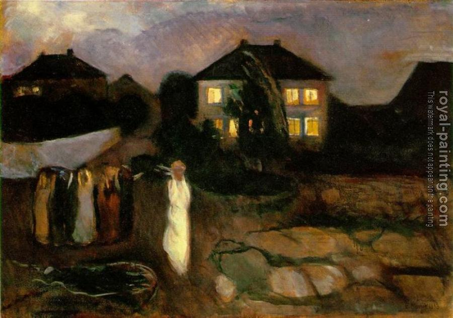 Edvard Munch : The Storm