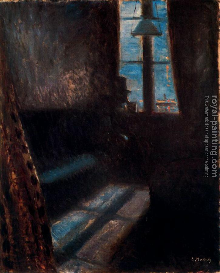 Edvard Munch : Night in St Cloud