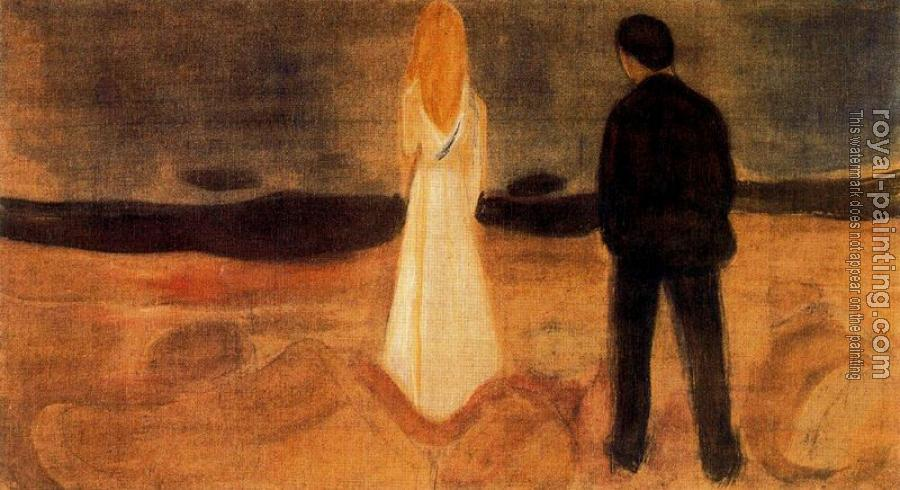 Edvard Munch : The solitary ones