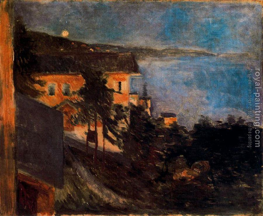 Edvard Munch : Moonlight on the Shore