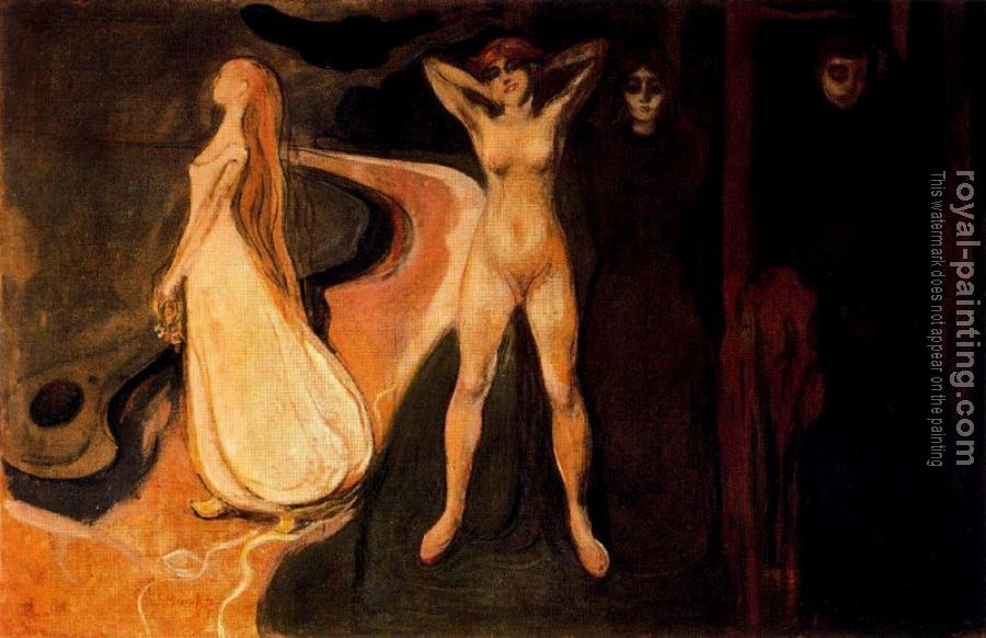 Edvard Munch : Woman in Three Stage