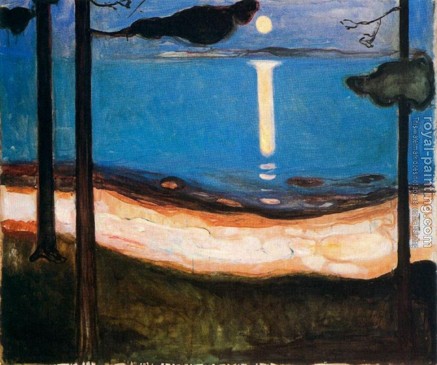 Edvard Munch : Moon Light