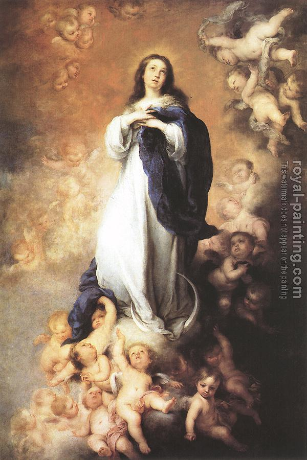 Bartolome Esteban Murillo : Immaculate Conception IV