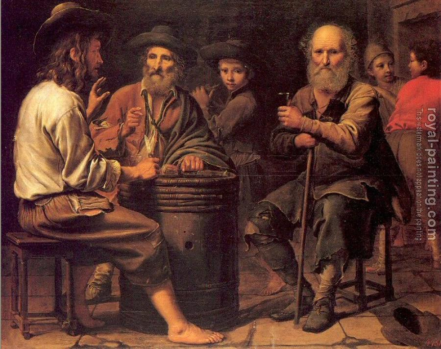 Le Nain Brothers : Peasants in a Tavern