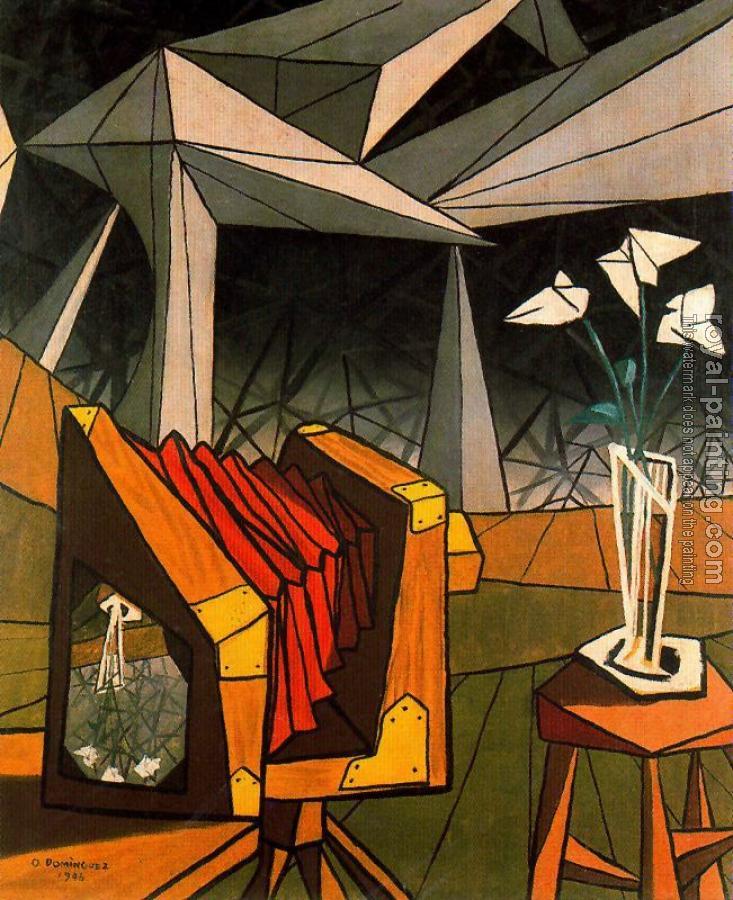 La Chambre Noire By Oscar Dominguez Oil Painting Reproduction