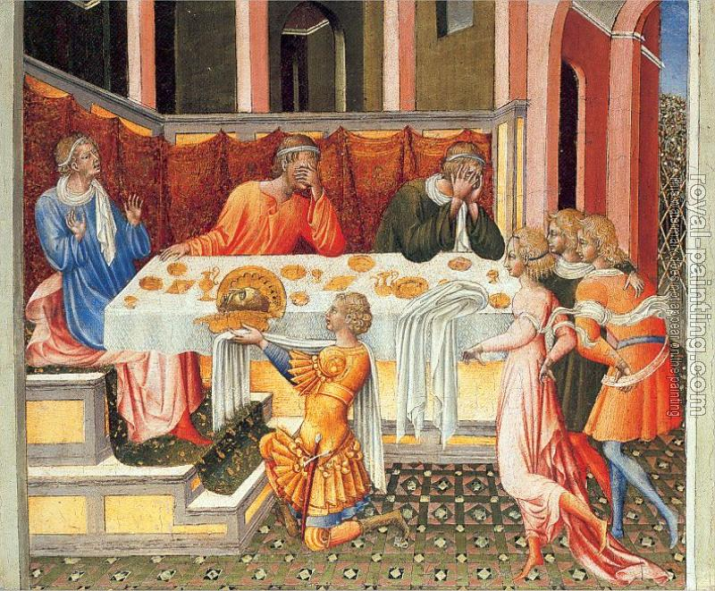 Giovanni Di Paolo : The Feast of Herod