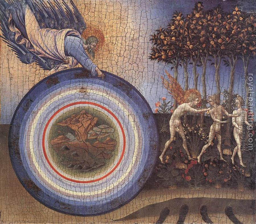 Giovanni Di Paolo : The Creation and the Expulsion from the Paradise