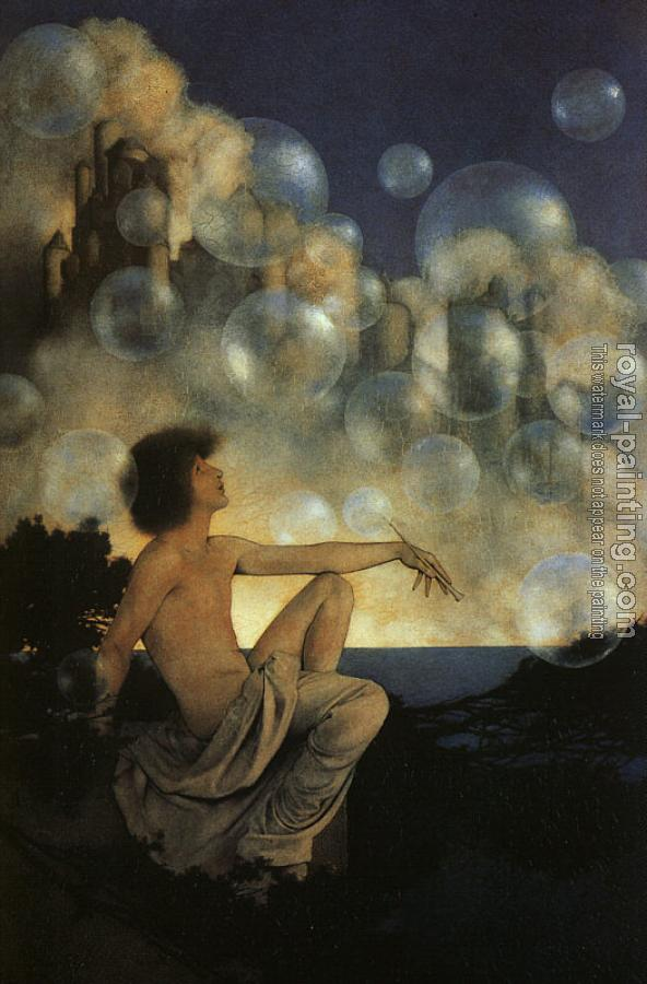 Maxfield Parrish : Air Castles