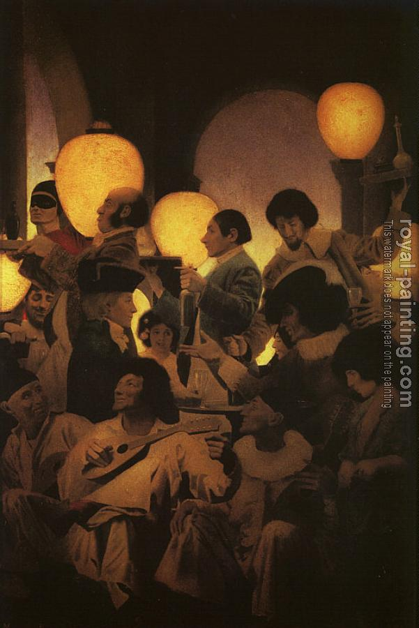 Maxfield Parrish : A Venetian Nights Entertainment