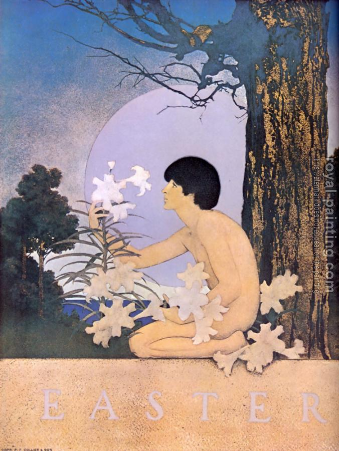 Maxfield Parrish : easter