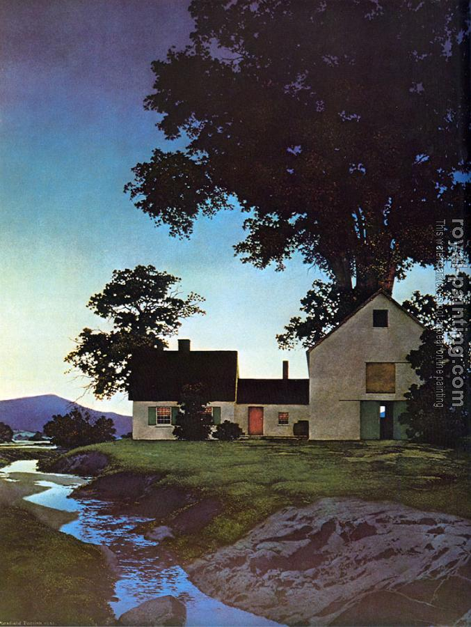 Maxfield Parrish : Twilight